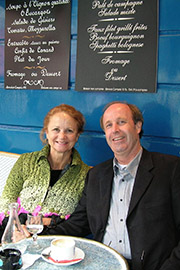 Gail and David Alskog